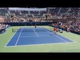 Roger Federer Us Open 2017 Practice - Day 2