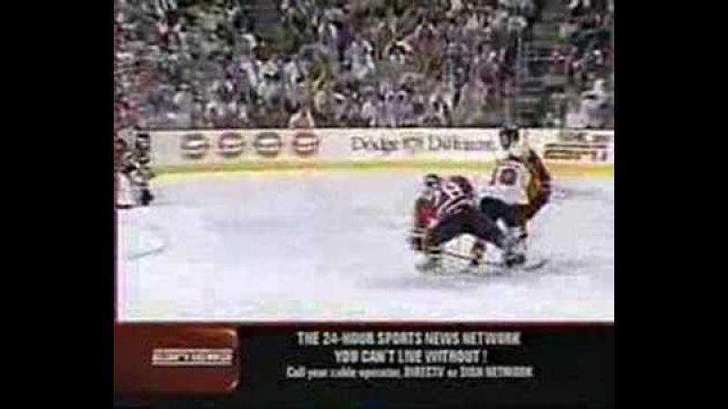 1999-00 Round 3Game 7 Scott Stevens Hits Eric Lindros
