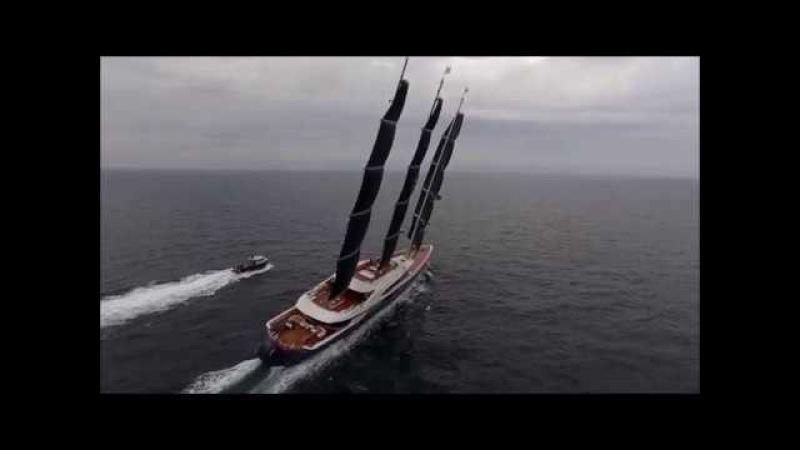 Чёрная жемчужина - самая большая парусная яхта в мире.