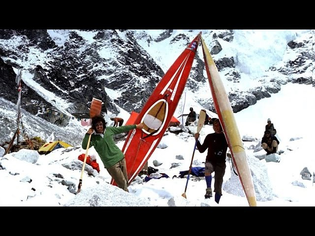 Dudh Kosi Kayaking Down Everest 1977