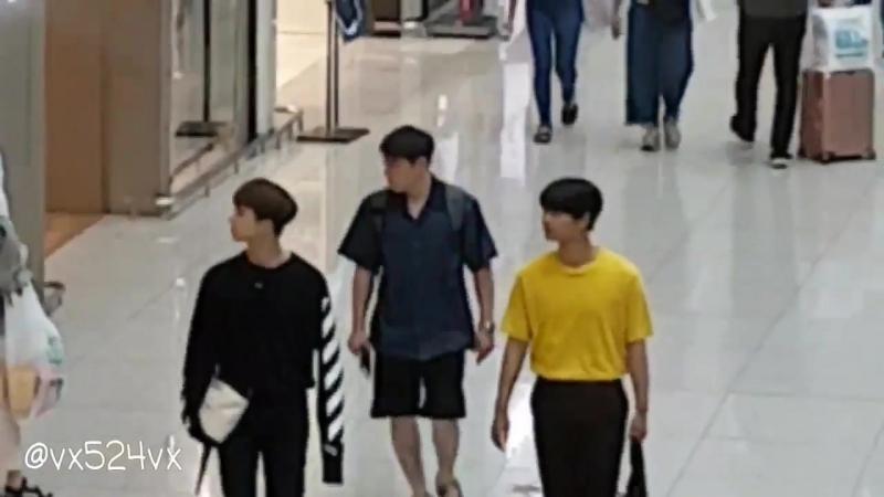 170812 Incheon airport, go to Taiwan VIXX