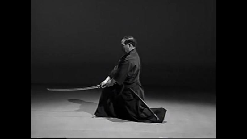 Iaido Kata Seitei 04 Yonhon-me - Tsuka-ate - High quality - www.thesamuraiworksh