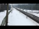 ЭП20-035 с фирменным поездом Невский экспресс