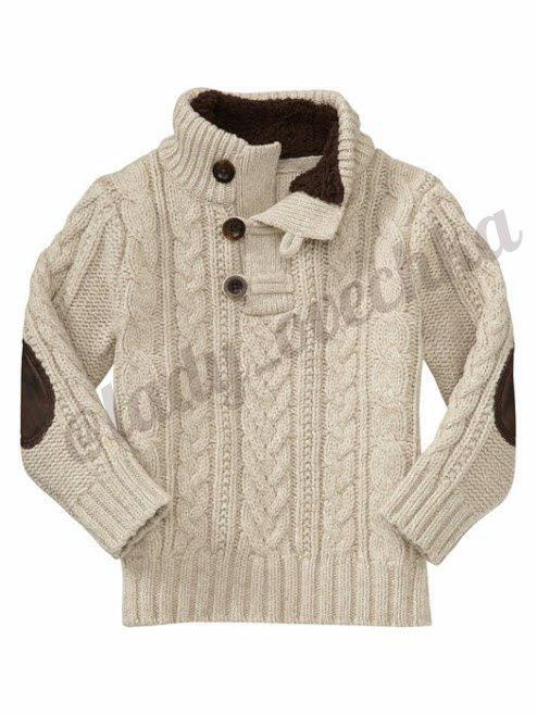 Вязаный свитер GAP в оригинале