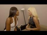 Naomi Campbell &amp Donatella Versace