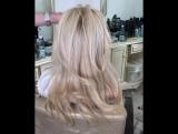Красивый цвет, живые волосы