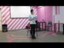 """Фролова Дарья. Стихийное бедствие в СОЮБ. 11.03.2017. Стихотворение """"Не такая"""""""