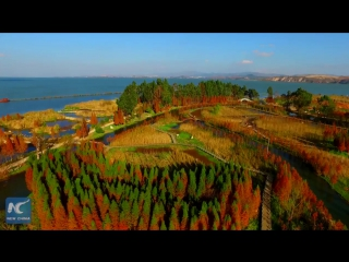 Озеро Дяньчи, Куньмин, Китай