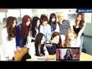 Making PRISTIN Debut Song WEE WOO Monitoring Video рус.саб