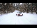 FUN TAXI DRIFT IN SNOW FOREST ALEX GOLOVNYA Part 1