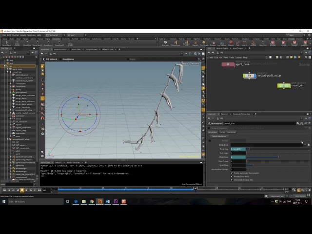 How to Create Custom Constraints for Ragdolls with VEX in Houdini