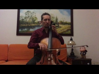 POPPER PROJECT: Yuri Voroniuk plays Etude #2 (Andante) for cello by David Popper