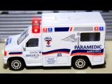 Ambulans, Süper Polis, Yarış Arabası - Champion şehirdeki, Eğlenceli çocuk videosu