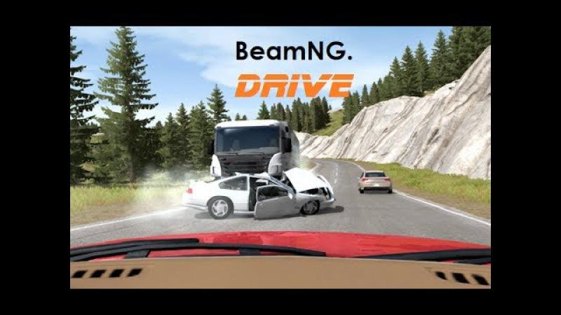 Dash Cam Crash Compilation 20 Real Life Sounds BeamNG Drive