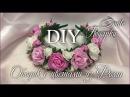 МК Ободок с цветами из фоамирана