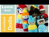LOOM KNIT Projects DOLL TOY Comfort Izzy Duzuza Softies and Pocket Pals