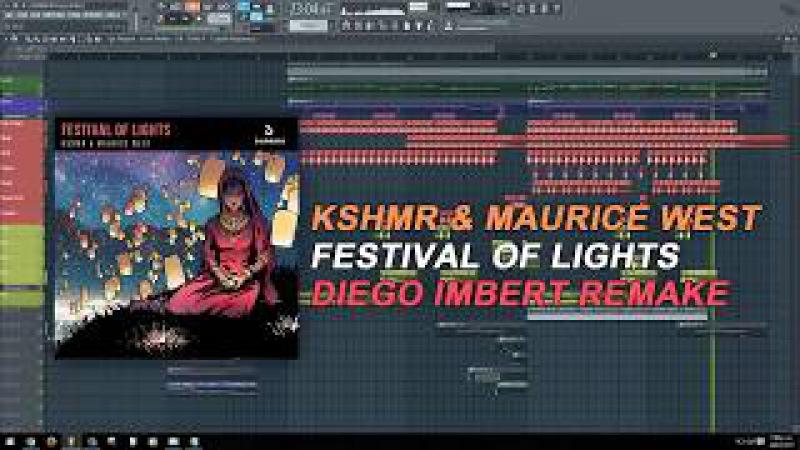 KSHMR Maurice West - Festival of Lights (Original Mix) (FL Studio Remake FLP)