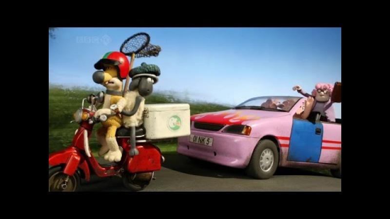 Барашек Шон серия 70 - Большие гонки / Shaun the Sheep - The Big Chase (HD)