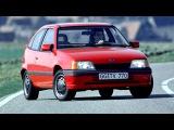 Opel Kadett GT 3 door E 1989 90