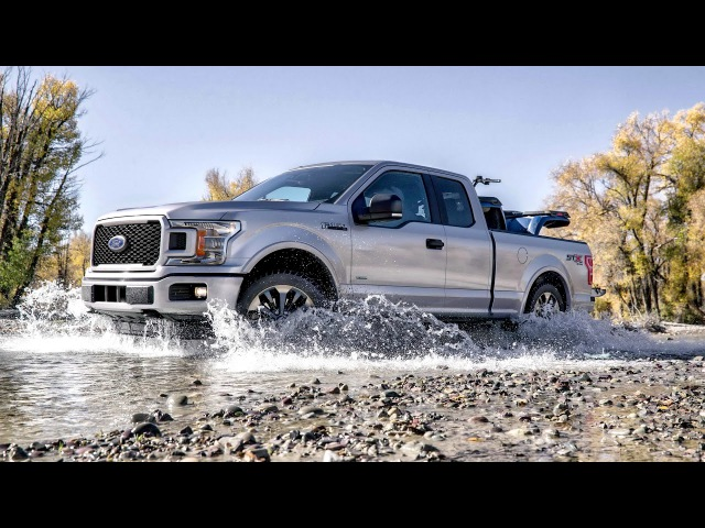 2018 Ford F 150 XL SuperCab STX Appearance Package 2017