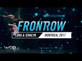 Luka &amp Jenalyn  FrontRow  World of Dance Montreal Qualifier 2017  #WODMTL17