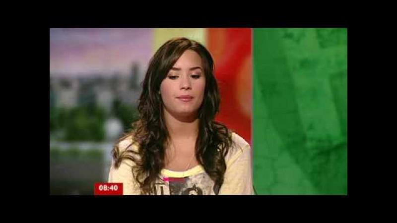 Demi Lovato SHOCKING INTERVIEW Unbroken Skyscraper Live America's Got Talent KCA X Factor 2013