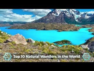 Топ 10 САМЫХ КРАСИВЫХ мест нашей Земли в 4К.