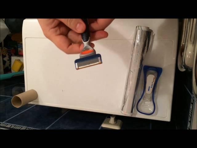 3 способа наточить, восстановить кассету станка(бритвы) Джилет (Gillette), Bic, Venus, Schick » Freewka.com - Смотреть онлайн в хорощем качестве