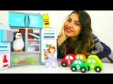Oyuncak kreşi! Çocuk videoları. Arı Maya, prenses Sofia, Robocar Poli, kaplumbağa ve penguen!