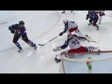 Sergei Bobrovsky robs Rantanen with glove save 12/1/16