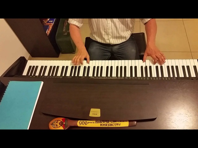 Вместе весело шагать по просторам (раз дощечка, два дощечка будет лесенка) - пиан ...