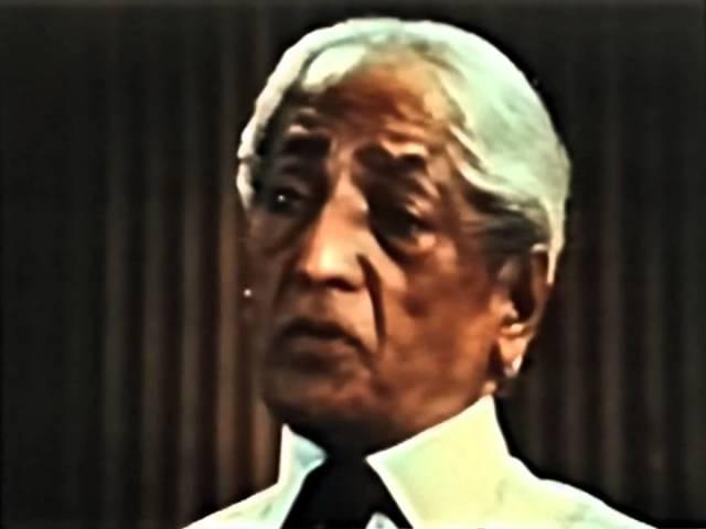Джидду Кришнамурти: Как познать самого себя? (Беседа 1, США, Сан-Диего, 05/04/1970)