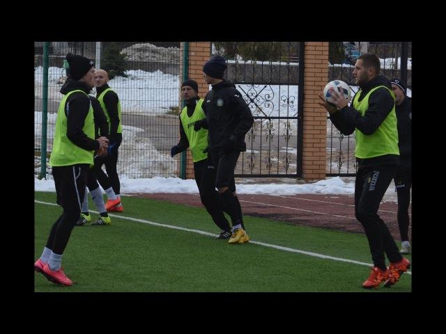 Ковалівці провели тренування перед матчем з Буковиною