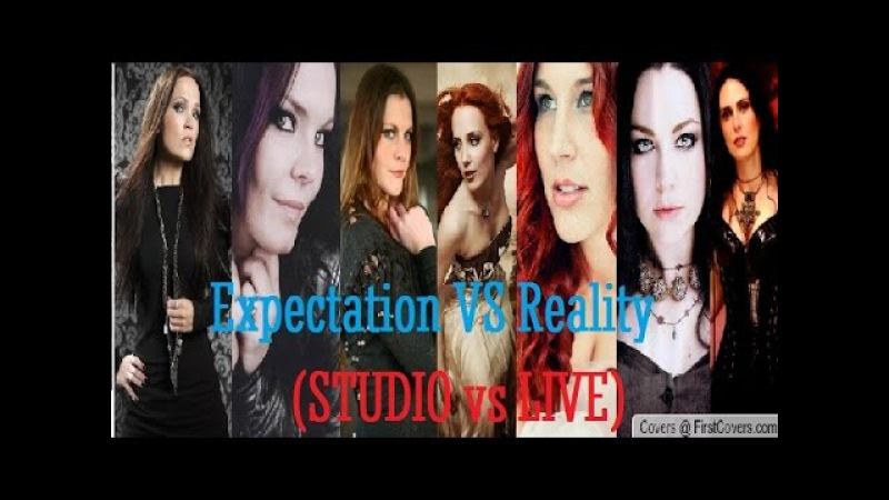Female Metal Singers: Expectation vs Reality (Studio vs Live)