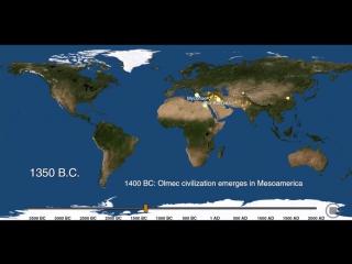 Рождение и смерть городов за 6 тысяч лет
