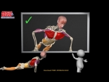 How to do a Proper Push Up_ Watch the muscles in 3D  learn to avoid a common mi