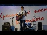 Концерт, посвященный памяти Владимира Высоцкого. Выступление Павла Пряжникова