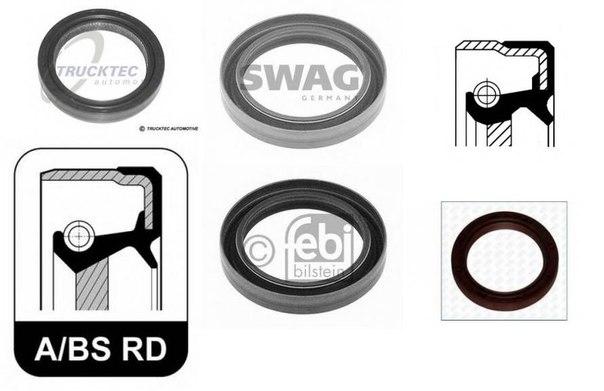 Уплотняющее кольцо, коленчатый вал; Уплотняющее кольцо, ступенчатая коробка передач для BMW Z1