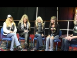 Vixen - Interview at Hard Rock Hell X (2016)