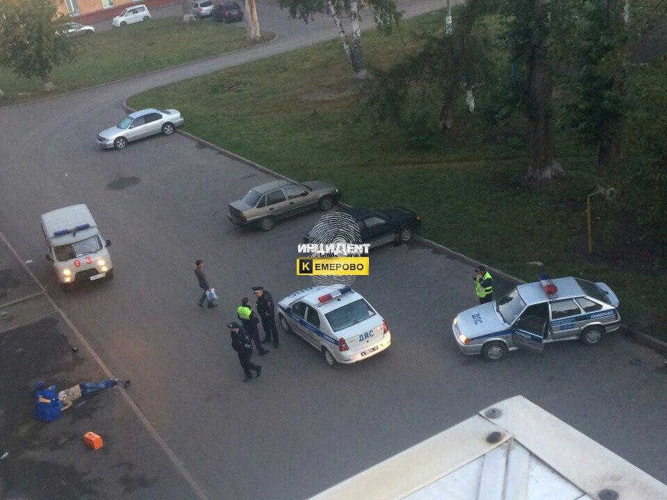 Встолице Кузбасса скрыши пятиэтажки упал мужчина