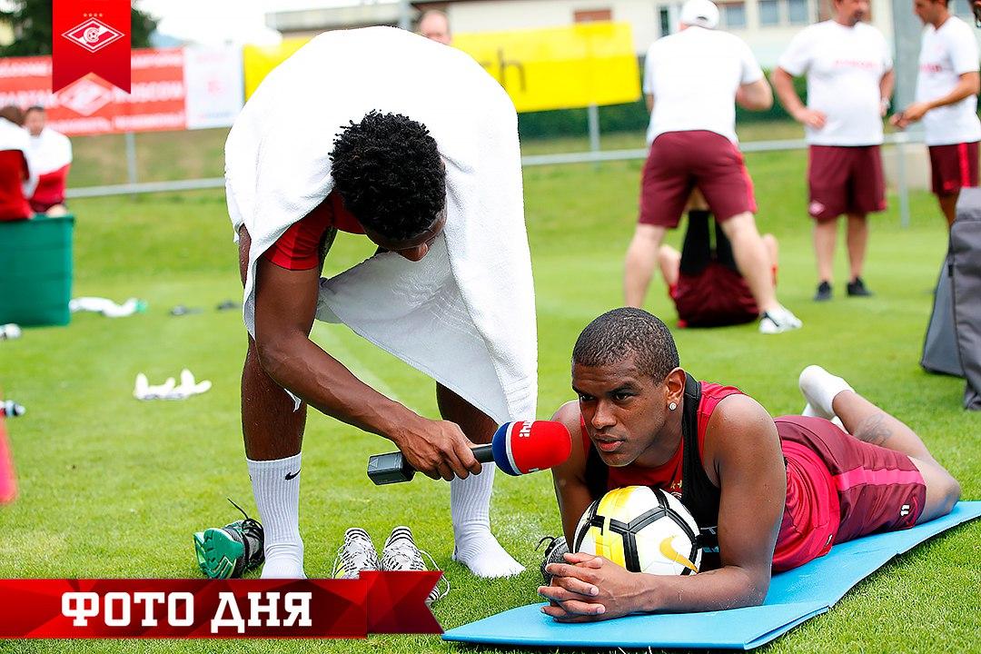 «Спартак» проводит в Филлахе двухразовые тренировки