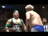 Danshoku Dino, Keisuke Ishii vs. Shigehiro Irie, Yasu Urano (DDT - New Year Lottery Special)