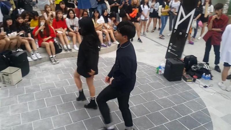 [댄스팀 PMP 게스트] BlackPink ☆마지막처럼☆ 커버안무 홍대댄스버스킹 20170630금 [Korean Hongdae Kpop Dance Busking]