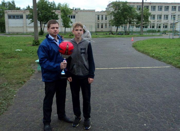 футбол, награждение
