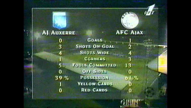 17 CL-1996/1997 AJ Auxerre - AFC Ajax 0:1 (11.09.1996) HL