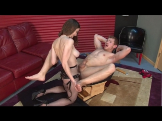 Molly Jane and Alexis Grace Fucking Dudes [Strapon, Pegging, Femdom]