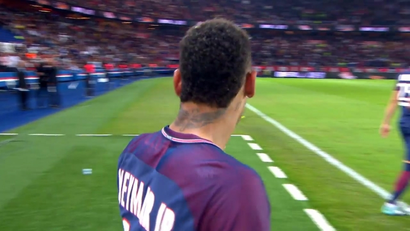 4. Neymar vs Saint-Étienne (25-08-2017), Ligue 1