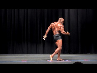 IFBB Classic Pro Darrem Charles Guest Posing From The 2016 NPC Puerto Rico Championships
