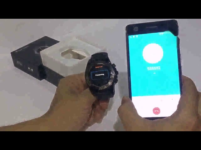 SW007 Smart Watch - короткий обзор смарт часов