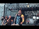 82 year old John Hetlinger and Drowning Pool preform at ink in the clink